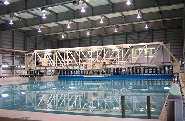 船舶運動性能試験水槽