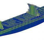 大規模全船構造解析モデル