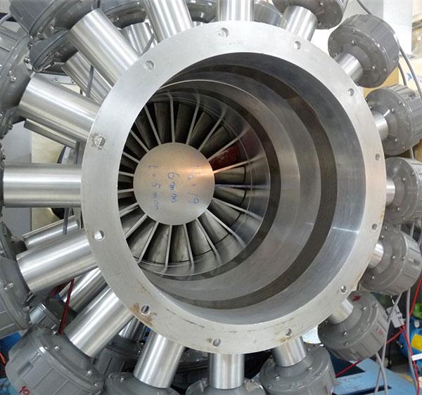 環境適合性の高い航空機用エンジンに重要な低騒音化と燃焼研究の試験設備