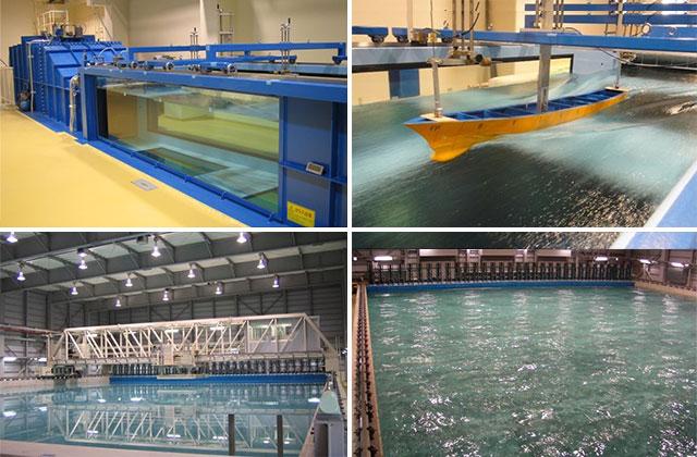 高速回流水槽・船舶運動性能試験水槽