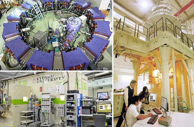 エネルギー科学科の研究施設