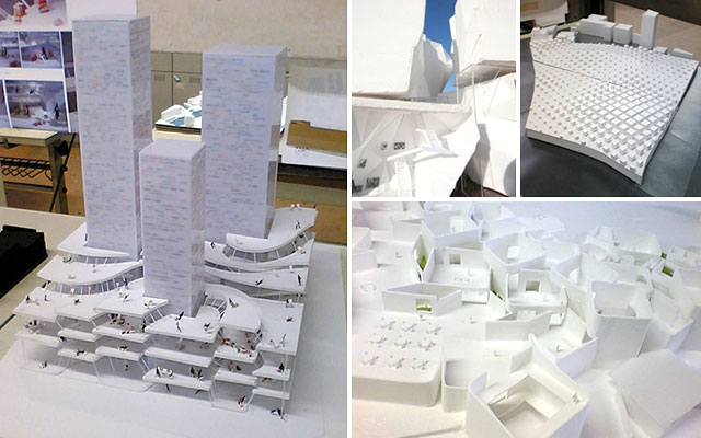 学生卒業設計の作品