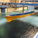 Model Ship Test in High Speed Circulating Water Channel
